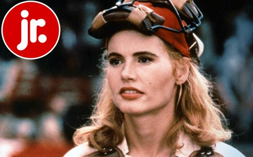 FILM FORUM JR.<br>Penny Marshall's<br>A LEAGUE OF THEIR OWN