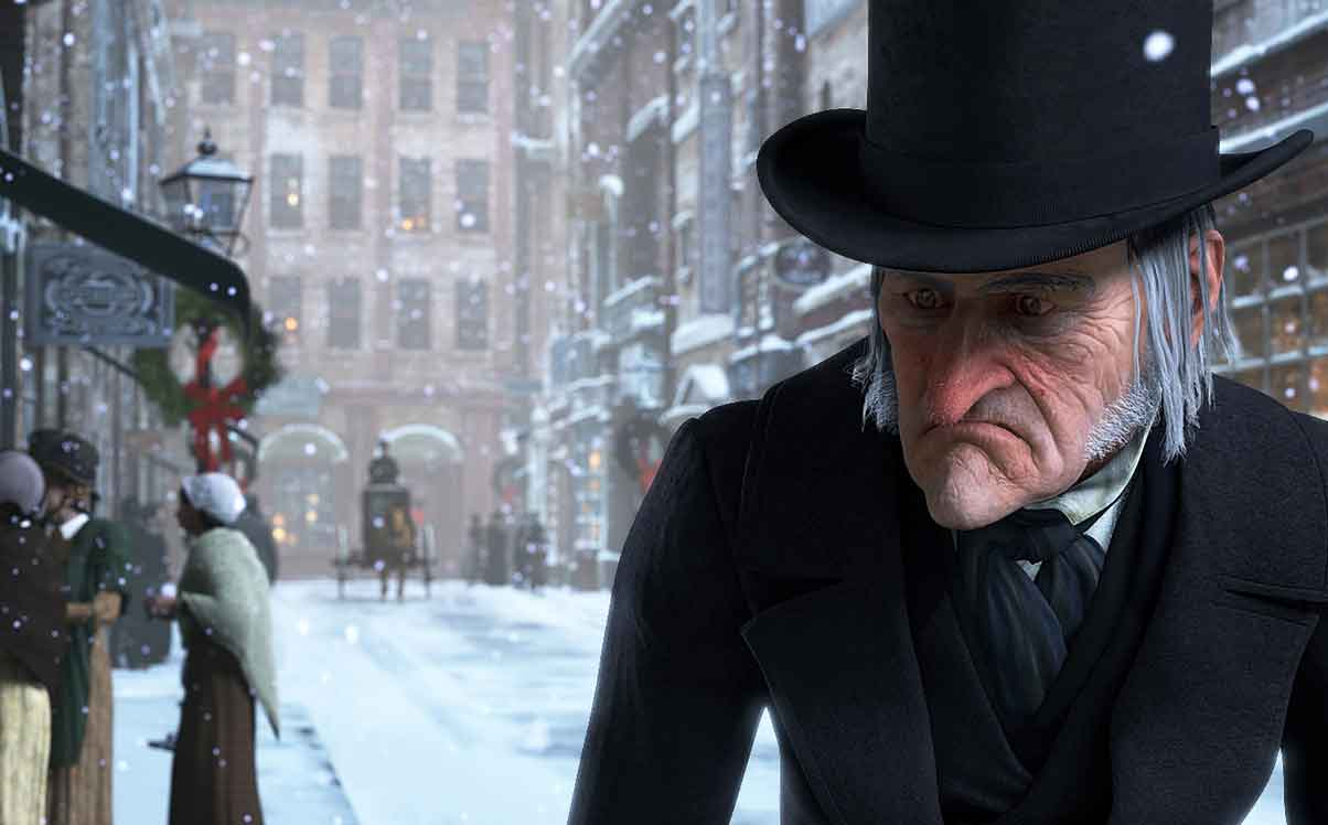 Tim Burton Christmas Carol.Film Forum A Christmas Carol