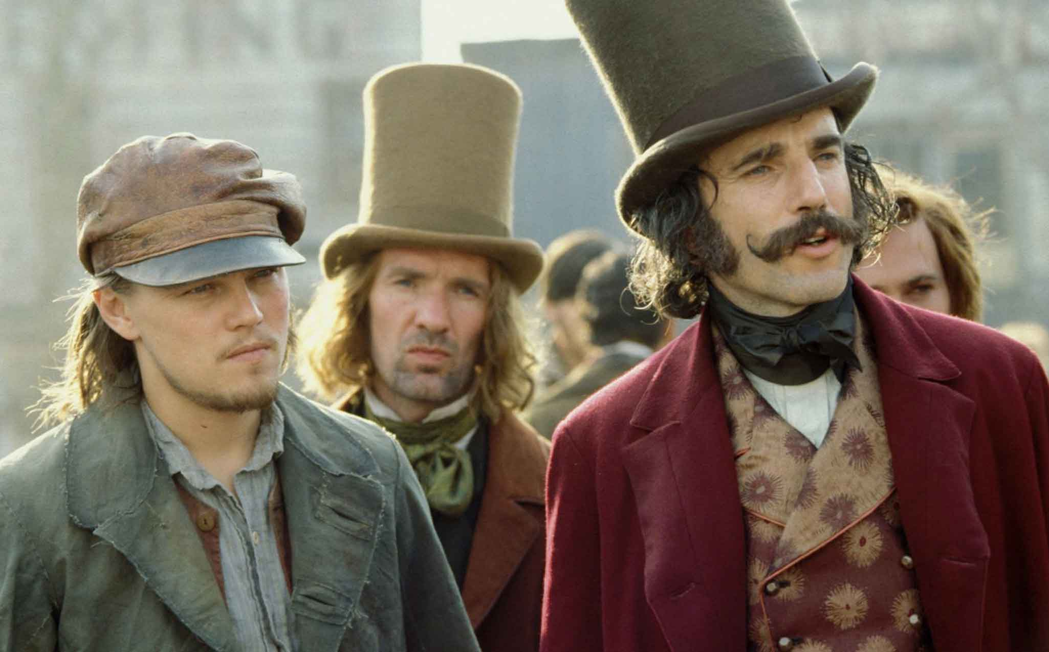 Daniel Day-Lewis and Dicaprio in Gangs of New York - Arriving on Netflix in August