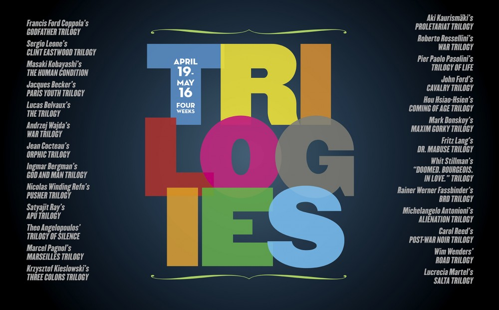 TRILOGIES Festival - Now Playing through Thursday, May 16.