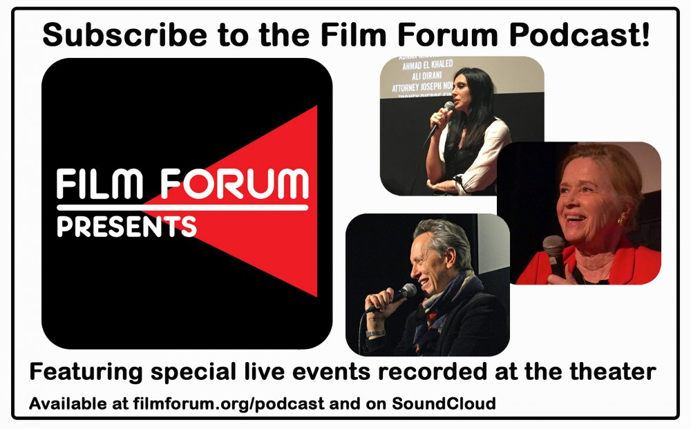 Podcast: Film Forum Presents