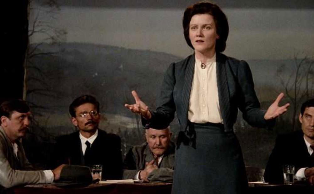Film Forum Barbara Sukowa In Margarethe Von Trotta S Rosa Luxemburg
