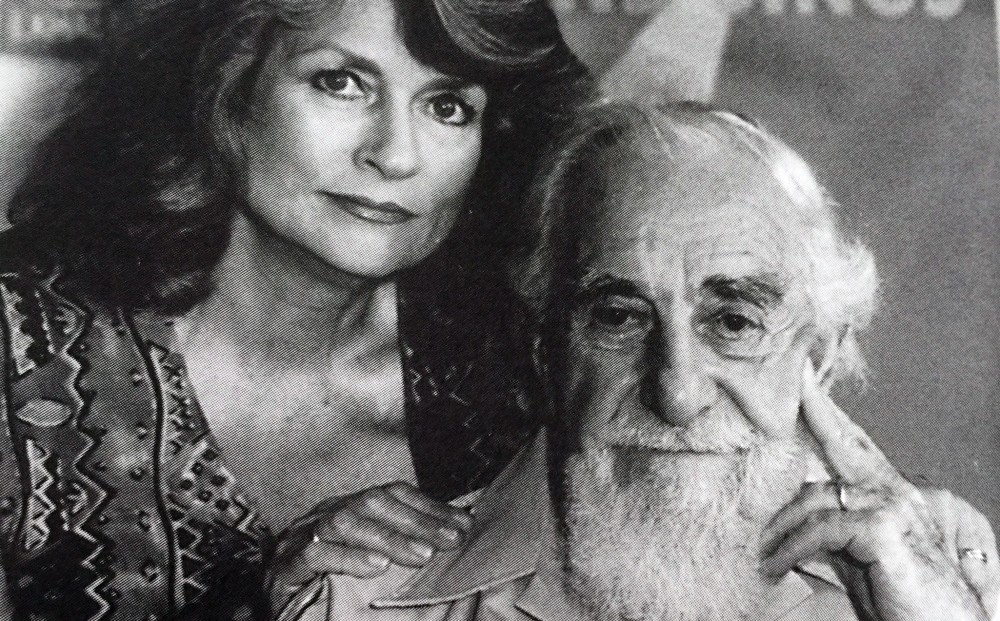 Al and Louise Hirschfeld, 1996<br> Photo:  Pamela Stansfield