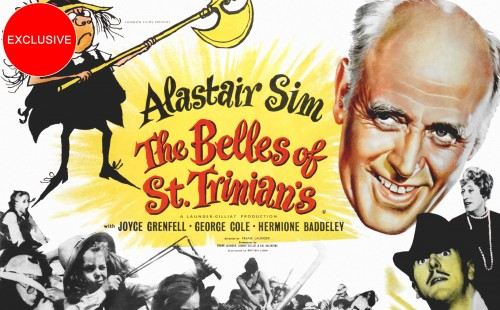 Alastair Sim in <br>THE BELLES OF ST. TRINIAN'S