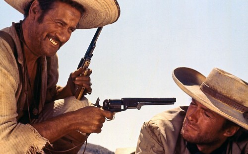 Sergio Leone's<br>THE GOOD, THE BAD, AND THE UGLY