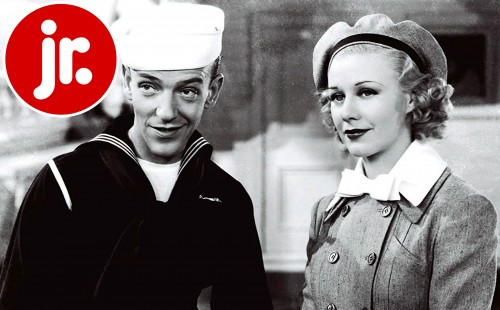Fred Astaire and Ginger Rogers in <br>FOLLOW THE FLEET