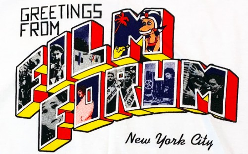 Greetings from Film Forum 50th Anniversary T-shirts