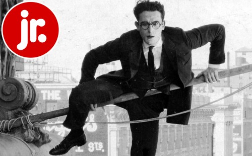 FILM FORUM JR.<br>Harold Lloyd in<br>SAFETY LAST!