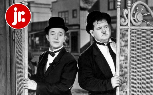 FILM FORUM JR.<br>Laurel and Hardy in<br>WAY OUT WEST