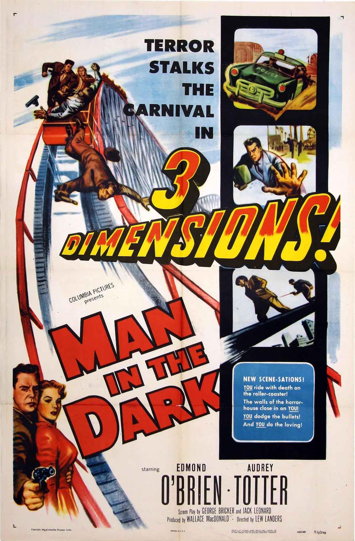 Film Forum Man In The Dark Plus 3 Stooges In Pardon My