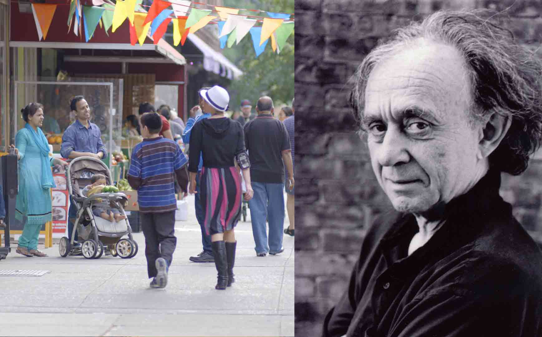 IN JACKSON HEIGHTS filmmaker Frederick Wiseman IN PERSON