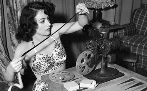 JOAN CRAWFORD'S PRIVATE HOME MOVIES PART I