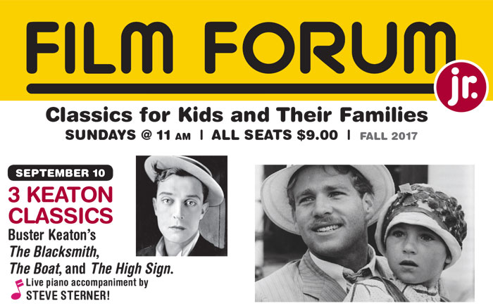FILM FORUM JR. Fall/Winter 2017 Calendar Announced