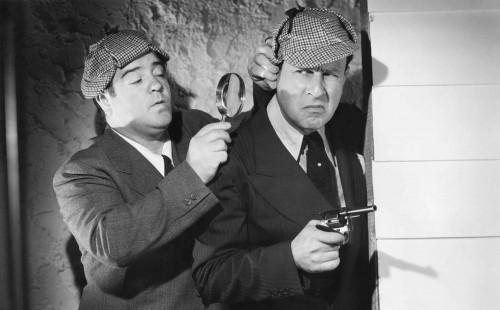 "Abbott & Costello in ""WHO DONE IT?"" Plus A TALE OF TWO KITTIES"