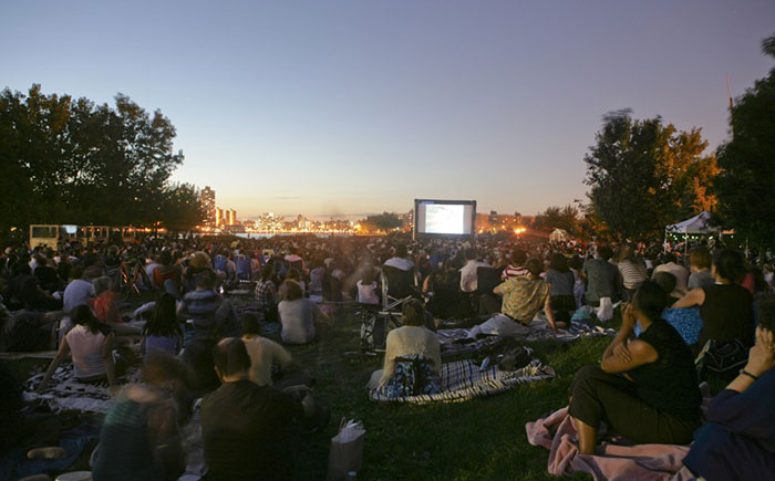 Schedule announced for Outdoor Cinema at Socrates Sculpture Park