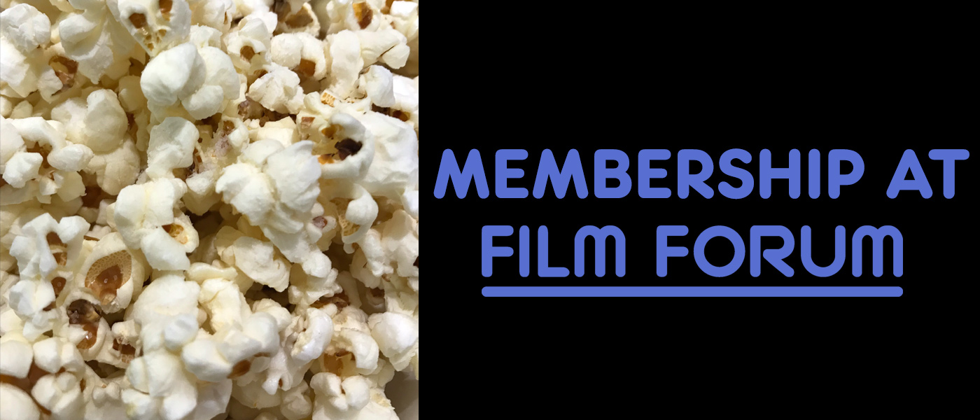 Membership at Film Forum