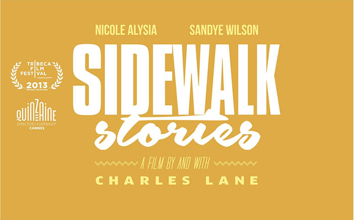 SIDEWALK STORIES BluRay