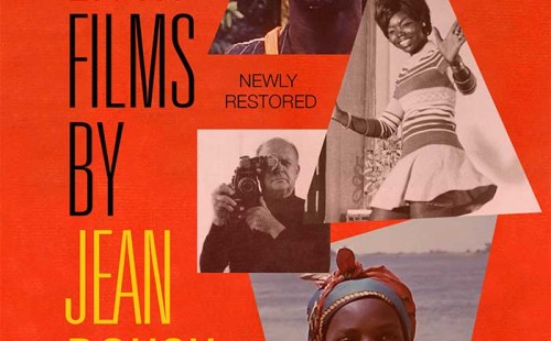 EIGHT FILMS BY JEAN ROUCH DVD