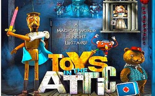 TOYS IN THE ATTIC Blu-Ray