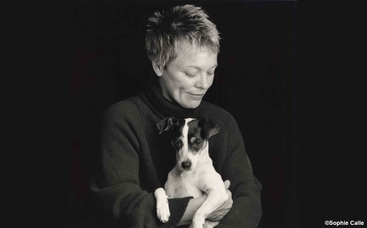 HEART OF A DOG filmmaker Laurie Anderson IN PERSON!